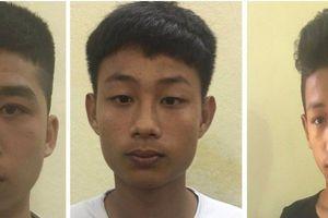 Quảng Ninh: Tóm gọn nhóm cướp 'miệng còn hôi sữa'