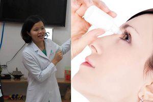 Bác sĩ nhãn khoa nói gì về 'thuốc nhỏ mắt NanoDrops chữa cận thị'?