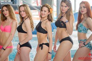 Ngắm 10 nữ sinh viên đẹp nhất Belarus diện bikini gợi cảm