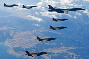 F-22 quần thảo trong cuộc tập trận bị Triều Tiên phản đối