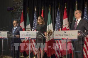 Bắc Mỹ khó đạt thỏa thuận sơ bộ về NAFTA trước 17/5