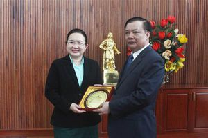 Bộ Tài chính Việt Nam sẵn sàng hỗ trợ Lào cải cách thể chế và hoàn thiện khung khổ pháp lý