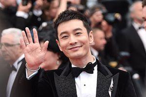 Huỳnh Hiểu Minh lẻ bóng trên thảm đỏ Cannes 2018