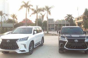 Bộ đôi Lexus LX570 Super Sport giá hơn 20 tỷ tại Quảng Ninh