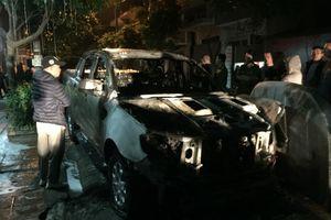 Công an công bố nguyên nhân vụ cháy xe Ford Ranger