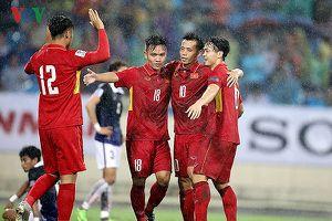 BXH FIFA tháng 5/2018: ĐT Việt Nam chỉ cách top 100 đúng 2 bước chân
