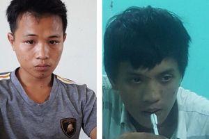 Bắt 2 đối tượng trộm tiền ở tiệm tạp hóa tại Quảng Bình