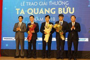 Giải thưởng Tạ Quang Bửu đã có uy tín rất cao, đạt tầm quốc tế