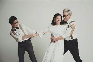 Những cặp vợ chồng 'chị em' hạnh phúc của showbiz Việt
