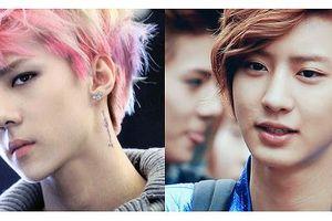 Những kiểu tóc 'để đời' của EXO