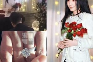 Nữ diễn viên 'chuyên giật chồng' được đại gia cầu hôn bằng nhẫn kim cương