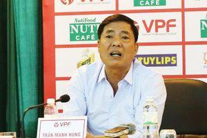 Trưởng ban kiểm tra VPF và Phó Ban Trọng tài VFF cãi nhau 'như chợ búa', có phải chỉ là việc cá nhân?