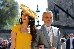 Vợ chồng George Clooney, David Beckham tới dự hôn lễ Hoàng tử Anh