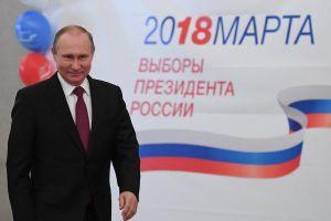 Chủ tịch nước gửi thư chúc mừng Tổng thống Putin tái đắc cử