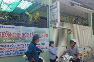 Đóng cửa nhóm trẻ có hành vi bạo hành các cháu nhỏ tại Đà Nẵng