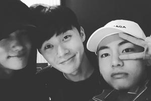 Park Hyung Sik tiết lộ V của BTS chính là 'keo dán' giữa mình và Park Seo Joon