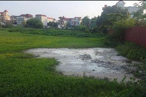 Phúc Thọ(Hà Nội): Công ty CP xây dựng và thương mại Gia Khánh hoạt động gây ô nhiễm môi trường