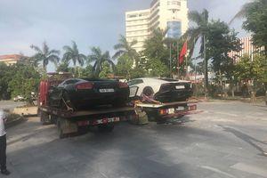 Cặp đôi Lamborghini của đại gia Hà Nội bất ngờ có mặt tại thành Vinh