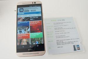 HTC One M9 về Việt Nam giá 16,99 triệu đồng