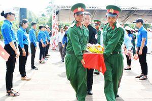 An táng 21 hài cốt liệt sĩ hi sinh tại Campuchia