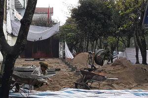 Bị đình chỉ, Công ty CP bia Sài Gòn - Nghệ Tĩnh vẫn ngang nhiên thi công