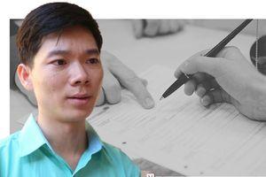 Chữ ký của bác sĩ Hoàng Công Lương