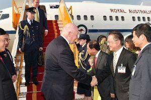 Cận cảnh lễ đón Toàn quyền Úc thăm Việt Nam