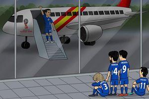 Biếm họa 24h: 'Đau bụng' với HLV Park Hang Seo, Chelsea nhận kết đắng