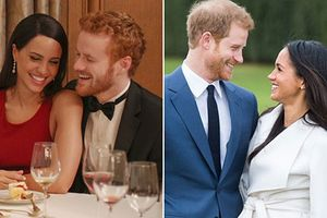 Chuyện tình hoàng tử Harry và Meghan Markle được tái hiện trên phim