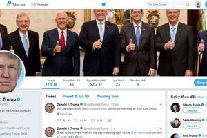 Tổng thống Donald Trump thua kiện vì chặn người khác trên Twitter