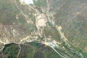 Nhóm phóng viên quốc tế đang tới bãi thử hạt nhân Triều Tiên