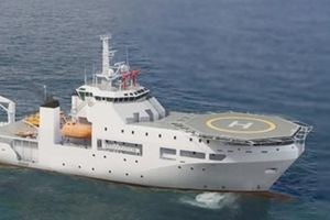 Việt Nam sắp có tàu cứu hộ tàu ngầm siêu hiện đại