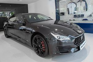 'Hàng hiếm' Maserati Quattroporte Nerissimo Edition tiền tỷ tại Việt Nam