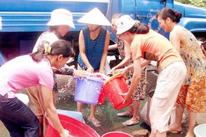 Chớm hè, Hà Nội đã 'khát' nước sạch