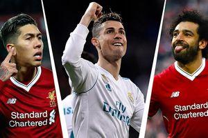 Đội hình kết hợp Liverpool và Real theo sơ đồ 4-3-3 của Jurgen Klopp