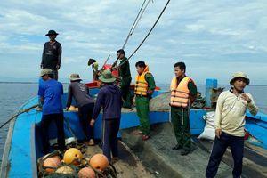 Xử lý 3 tàu giã cào đánh bắt sai tuyến trên vùng biển Quảng Trị