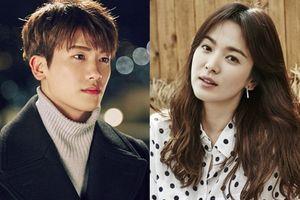 Park Hyung Sik cảm ơn Song Hye Kyo 'Noona' xinh đẹp bất ngờ gửi xe đồ ăn đến phim trường 'Suits'