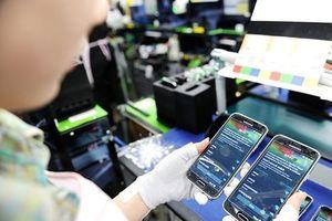 Điện thoại và linh kiện chiếm hơn 21% kim ngạch xuất khẩu của Việt Nam năm 2017