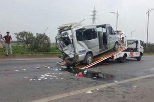 Tai nạn kinh hoàng trên tuyến cao tốc Hà Nội - Bắc Giang khiến 2 người tử nạn