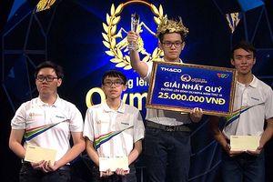 Nam sinh Quảng Ninh giành vé chung kết Đường lên đỉnh Olympia năm