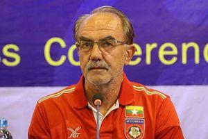 Myanmar tuyên bố sa thải HLV Gerd Zeise