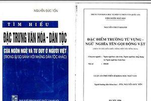 Phó Thủ tướng yêu cầu làm rõ nghi vấn GS Nguyễn Đức Tồn đạo văn
