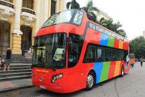 Xe buýt 2 tầng City tour tại Hà Nội chính thức khai trương vào ngày 30/5