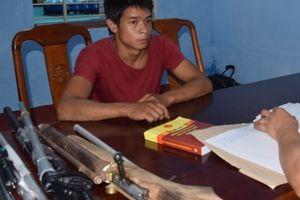 2 thanh niên mua bán linh kiện chế tạo súng qua mạng