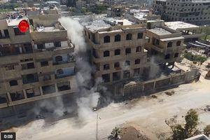 Quân Syria hủy diệt hệ thống đường hầm 'khủng' của các nhóm nổi dậy ở Đông Ghouta