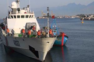 Tàu cá Quảng Ngãi bị chìm ở Hoàng Sa sau va chạm với tàu Trung Quốc