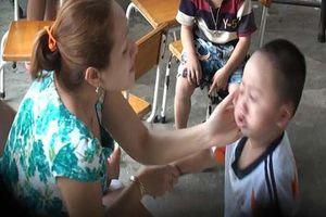'Rụng tim' với những vụ bạo hành trẻ ở trường học