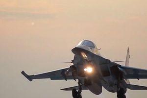 Chiến trường Syria: Su-34 của Nga khiến máy bay đối thủ quay đầu bỏ chạy?