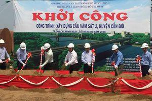 Bắt đầu xây cầu Vàm Sát 2 nối trung tâm TP.HCM