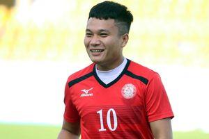 Phi Sơn vắng mặt ở trận đấu giữa TPHCM với Quảng Nam